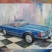 1976 Mercedes-benz 450 Sl Art Print