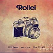 1979 Rollei Camera Patent Art 1 Art Print