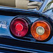 1980 Ferrari 308 Gtsi Taillight Emblem -0027c Art Print