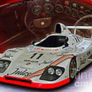 1981 Porsche 936/81 Spyder Art Print