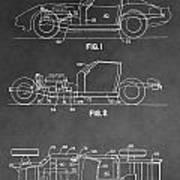 1983 Corvette Patent Art Print