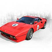 1985 Ferrari 288 Gto Art Print
