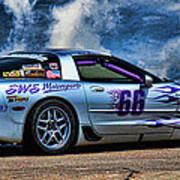 1997 Corvette Art Print
