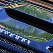 1997 Ferrari F 355 Spider Rear Emblem -117c Art Print
