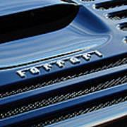 1997 Ferrari F 355 Spider Rear Emblem -153c Art Print