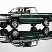 1999 Chevy Silverado Truck Art Print