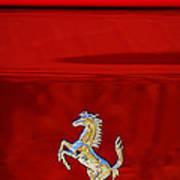1999 Ferrari 550 Maranello Emblem -651c Art Print