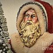 19th Century Santa Claus Art Print