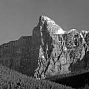 1m3621-bw-v-outlier Of Mt. Murchison Art Print