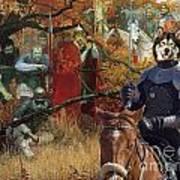 Alaskan Malamute Art Canvas Print Art Print