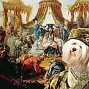 Tibetan Terrier Art Canvas Print Art Print