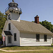 1870 Mission Point Lighthouse Art Print