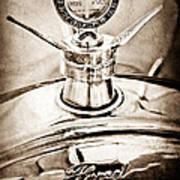 1923 Ford Model T Hood Ornament Art Print by Jill Reger