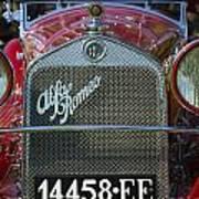 1931 Alpha Romeo Type 6c 1750 Gran Sport Art Print
