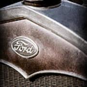 1931 Ford Grille Emblem Art Print