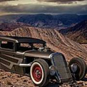 1931 Ford Hot Rod Sedan Art Print