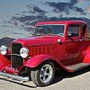 1932 Ford '5 Window' Coupe Art Print