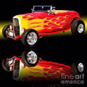 1932 Ford V8 Hotrod Art Print