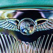 1933 Pontiac Emblem Art Print