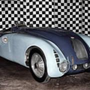 1936 Bugatti 57g Tank Art Print