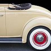 1936 Ford Cabriolet  Art Print