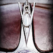1936 Ford Phaeton V8 Hood Ornament - Emblem Art Print