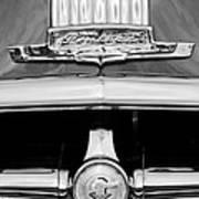 1950 Pontiac Grille Emblem Art Print