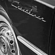 1951 Ford Crestliner Emblem - Wheel Art Print by Jill Reger