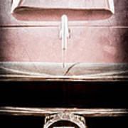 1953 Nash-healey Roadster Grille Emblem Art Print