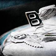1957 Bentley S-type Hood Ornament - Emblem Art Print