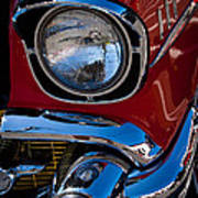 1957 Chevy Bel Air Custom Hot Rod Art Print by David Patterson