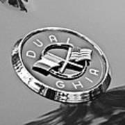 1957 Dual-ghia Convertible Emblem Art Print