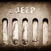 1957 Jeep Emblem Art Print
