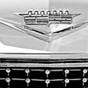 1958 Cadillac Eldorado Biarritz Convertible Emblem Print by Jill Reger