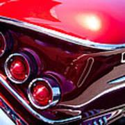 1958 Chevy Impala Art Print by David Patterson