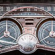 1959 Buick Lesabre Steering Wheel Art Print