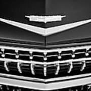1959 Cadillac Eldorado Grille Emblem Art Print