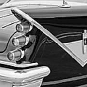 1959 Desoto Adventurer Convertible Tail Light Emblem Art Print