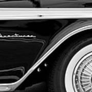 1959 Desoto Adventurer Convertible Wheel Art Print