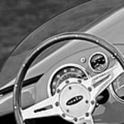 1959 Devin Ss Steering Wheel Art Print