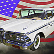 1959 Edsel Ford Ranger Art Print
