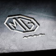 1959 Mg A 1600 Roadster Emblem Art Print