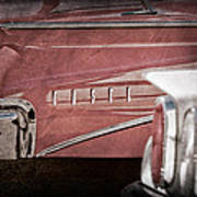 1960 Edsel Taillight Art Print