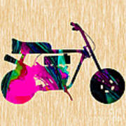 1960s Mini Bike Art Print