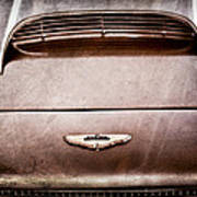 1961 Aston Martin Db4 Coupe Emblem Art Print