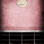 1963 Apollo Gran Tourismo Hood Emblem Art Print