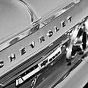 1964 Chevrolet Impala Taillights And Emblems Art Print