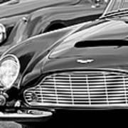 1965 Aston Martin Db6 Short Chassis Volante Art Print