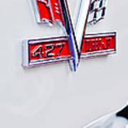 1966 Chevrolet Biscayne Emblem Art Print
