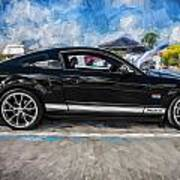 2007 Ford Mustang Shelby Gt Painted  Art Print
